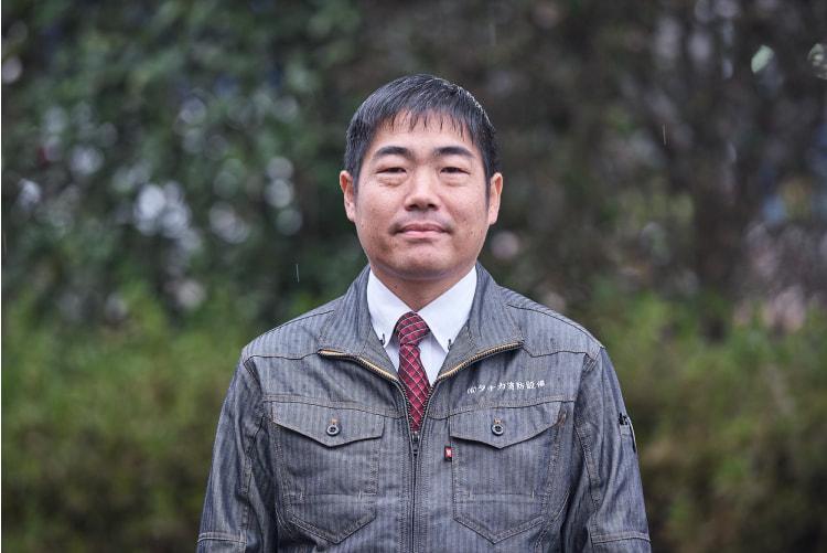 代表取締役 田中大介 有限会社タナカ消防設備