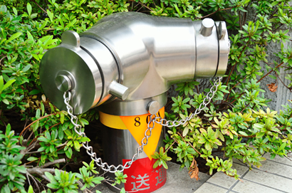 消防設備工事例 連結送水管設備 設置 タナカ消防設備 熊本