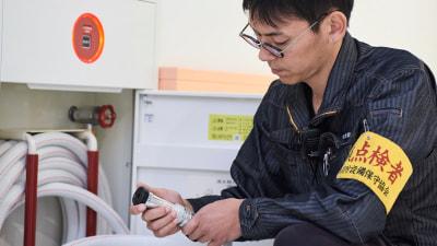 点検の流れ 点検 タナカ消防設備 熊本