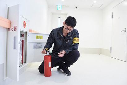 消防設備の点検例 タナカ消防設備 熊本